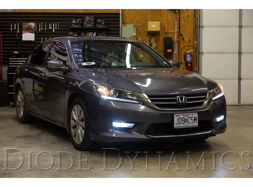 Fits 2013-2015 Honda Accord OEM Replacement Fog Lights Driving Lights Full Kit