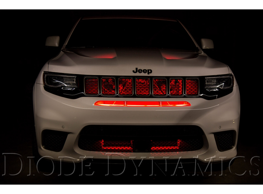 2018 Jeep Grand Cherokee Trackhawk Hellcat >> Jeep Grand Cherokee Trackhawk LED Lighting Upgrades | Diode Dynamics