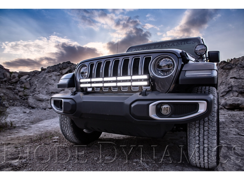 Now Available! Bumper Light Bar Bracket Kit for the 2018+ Jeep JL