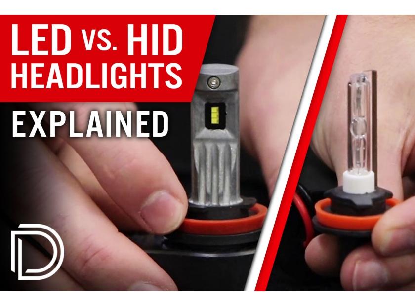 Led Headlights Vs Hid >> Hid Vs Led Headlight Bulbs Explained