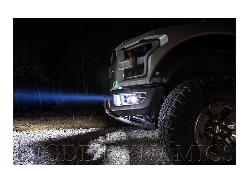 New ford raptor led fog lightbar kits diode dynamics ford raptor led fog lightbar kits aloadofball Gallery
