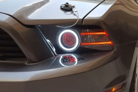 HD LED Halos for 2013-2014 Ford Mustang (pair)