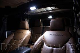 Interior LED Conversion Kit for 2007-2018 Jeep JK Wrangler