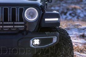SS3 LED Fog Light Kit for 2018-2021 Jeep JL Wrangler