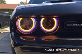 HD LED Halos for 2015-2021 Dodge Challenger (FOUR)