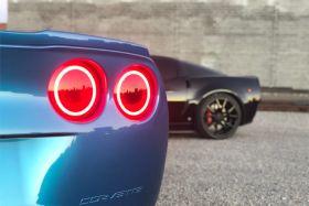 Tail Light HD LED Halos for 2006-2013 Chevrolet Corvette (four)