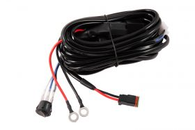 Heavy Duty Single Output 2-Pin Offroad Wiring Harness