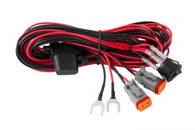 Light Duty Dual Output 2-Pin Offroad Wiring Harness