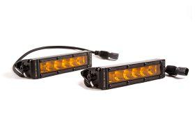 """Stage Series 6"""" SAE/DOT Amber Light Bar (pair)"""