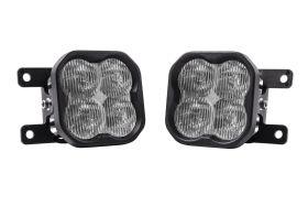 SS3 LED Fog Light Kit for 2021 Ford Bronco (w/ Standard Bumper)