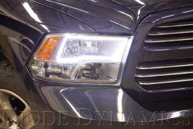 2009-2010 Dodge Ram Quad Switchback LED Halos