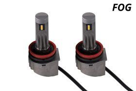 Fog Light LEDs for 2007-2012 Lincoln MKZ (pair)