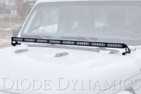 2018-2021 Jeep JL Wrangler Hood LED Light Bar Kit