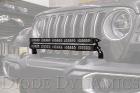 2018-2021 Jeep JL Wrangler Bumper LED Light Bar Kit