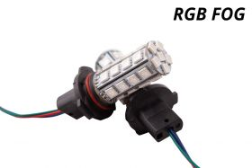 Multicolor Fog Light LEDs for 2000 Dodge Stratus (pair)