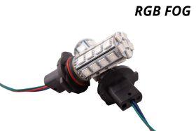 Multicolor Fog Light LEDs for 2003-2009 Dodge Ram 1500/2500/3500 (non-Sport)