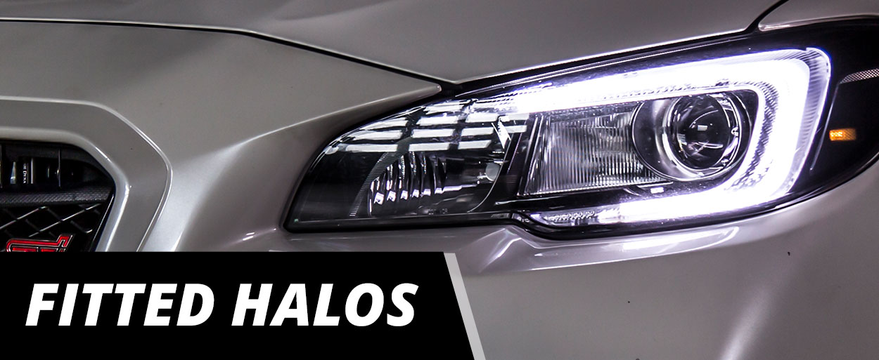 Fitted Halos