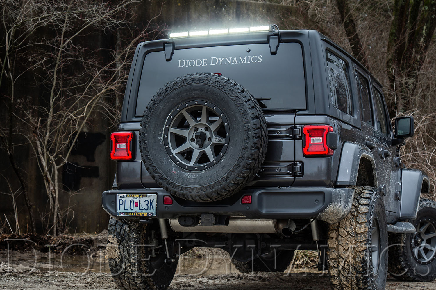 New Rear Hardtop Light Bar Kit For Your 2018 2019 Jeep Jl
