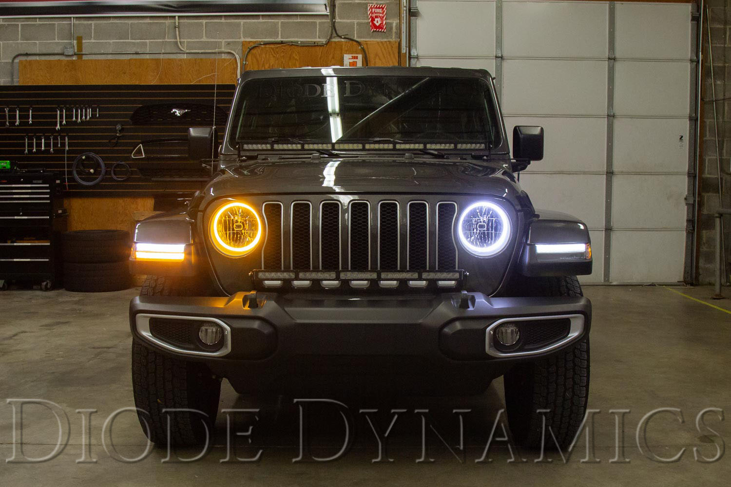 now available  hd led halo kit for the 2018 2019 jeep jl