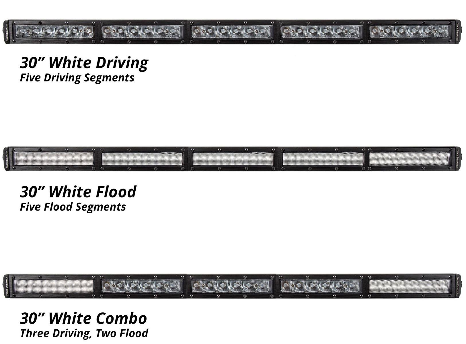 30inch White LED Light Bar
