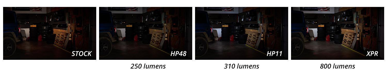 3157 XPR Comparison