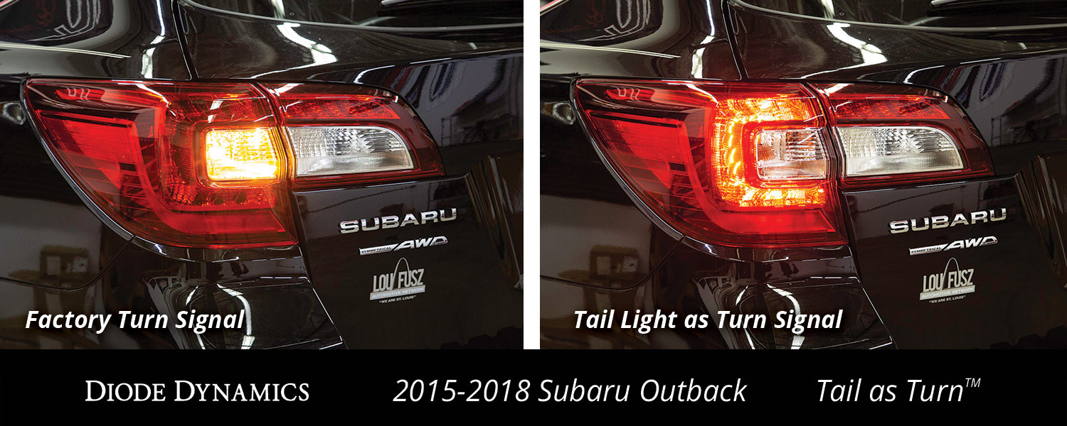 Now Available! Tail as Turn™ Module for 2015+ Subaru Outback
