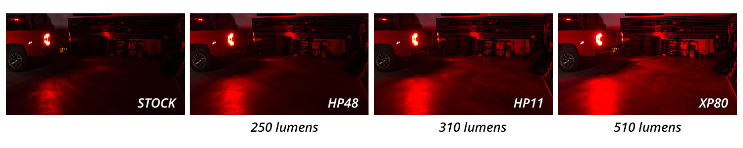 Tail Light Comparison