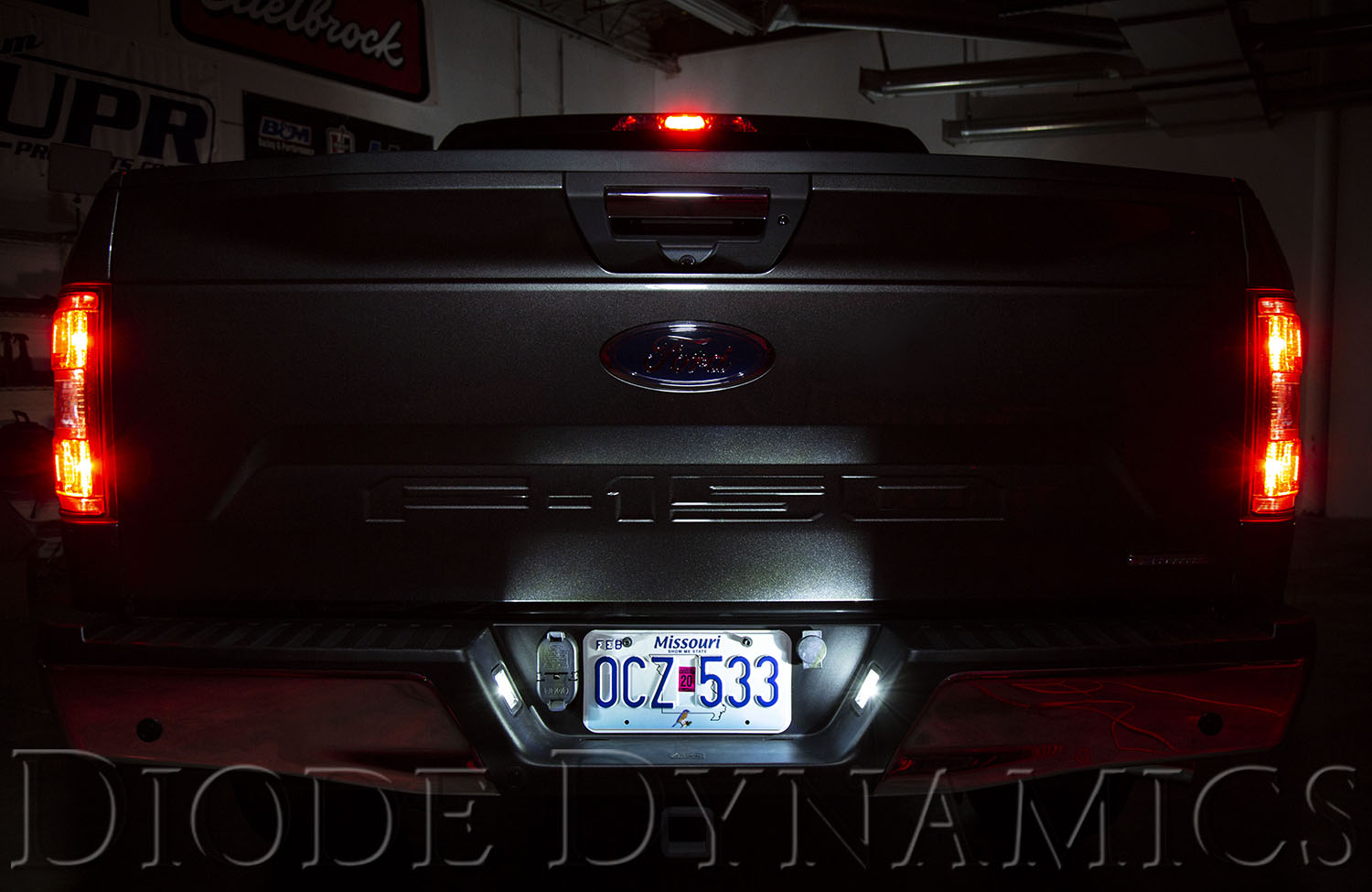 Led Lighting Upgrades For The 2018 F 150 Diode Dynamics Ford Oem Fog Light Wiring Harness License Plate Bulbs