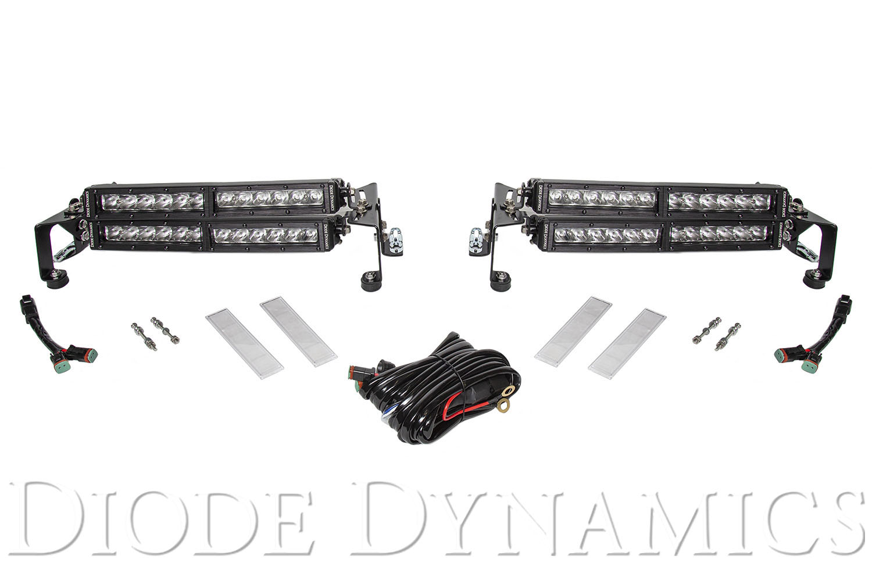 Stage Series Motorsports LED Brackets   Diode Dynamics