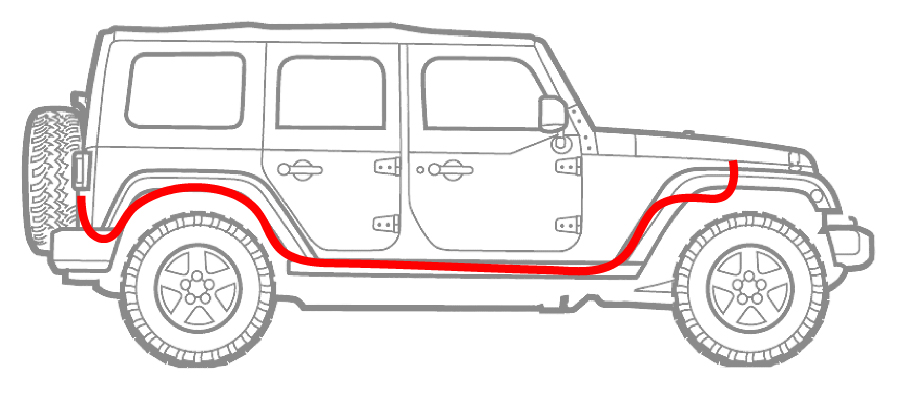 New! Rear Hardtop Light Bar Kit for your 2018-2019 Jeep JL ... Jeep Jk Light Bar Wiring Harness on jeep wrangler wiring harness connectors, toyota wiring harness, jeep xj wiring harness, jeep wk wiring harness, jeep commander wiring harness, nissan wiring harness, jeep wrangler aftermarket stereo, jeep cj wiring harness, mazda wiring harness, jeep tow wiring harness, radio wiring harness, ford wiring harness, jeep cj7 wiring-diagram, jeep liberty wiring harness, jeep wrangler trailer wiring, jeep trailer wiring harnesses, dodge wiring harness, 1995 jeep wiring harness, fj cruiser wiring harness, jeep wrangler wiring diagram,