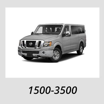 2012-2019 Nissan NV 1500-3500