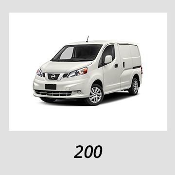 2012-2019 Nissan NV 200