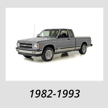 1982-1993 Chevrolet S-10
